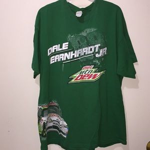 Dale Earnhardt Jr Mountain Dew T-Shirt